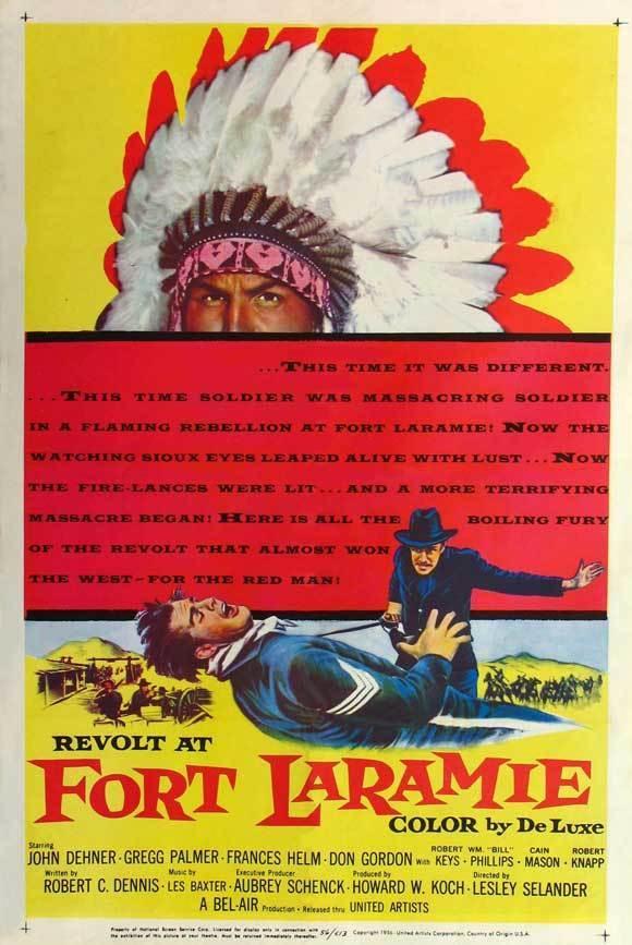 Revolt at Fort Laramie (1957) [720p] [BluRay] [YTS MX]
