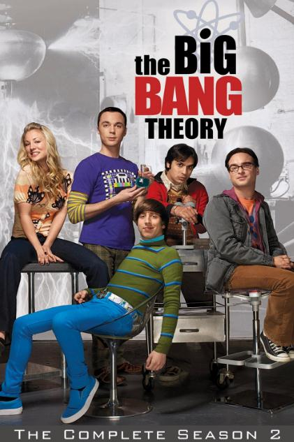 The Big Bang Theory SEASON 02 COMPLETE 720p BrRip 2CH x265 HEVC 2.5GB-PSA