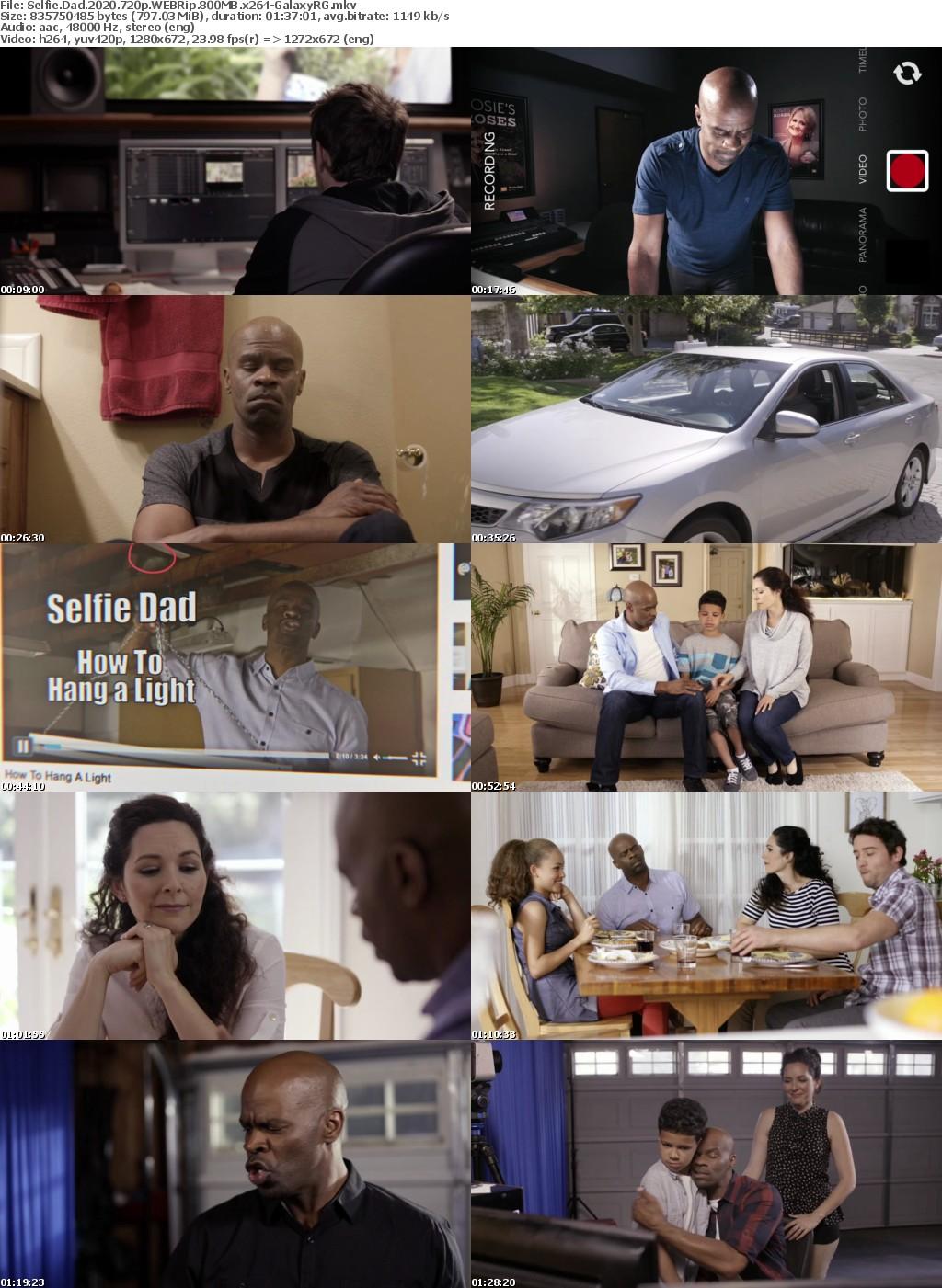 Selfie Dad (2020) 720p WEBRip 800MB x264-GalaxyRG