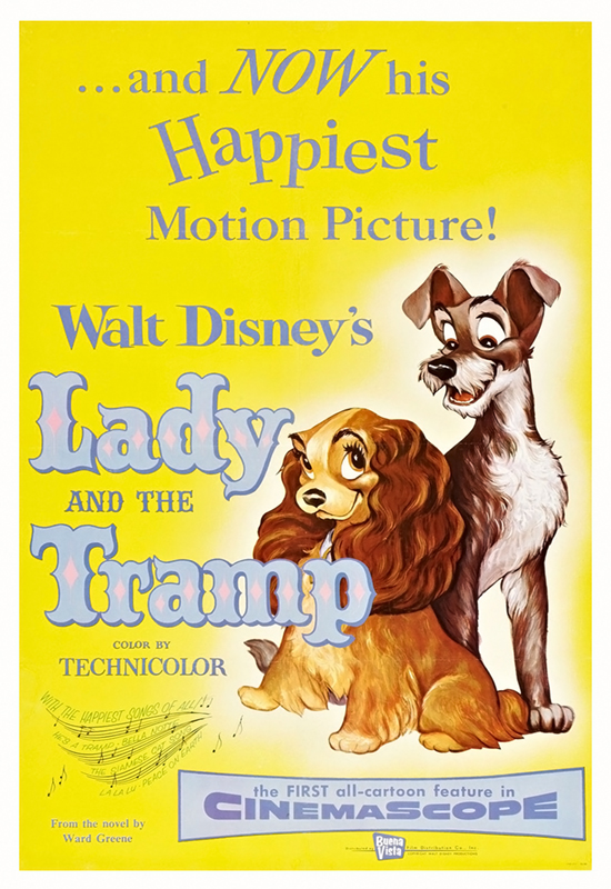 Lady And The Tramp 1955 1080p BluRay x265-RARBG