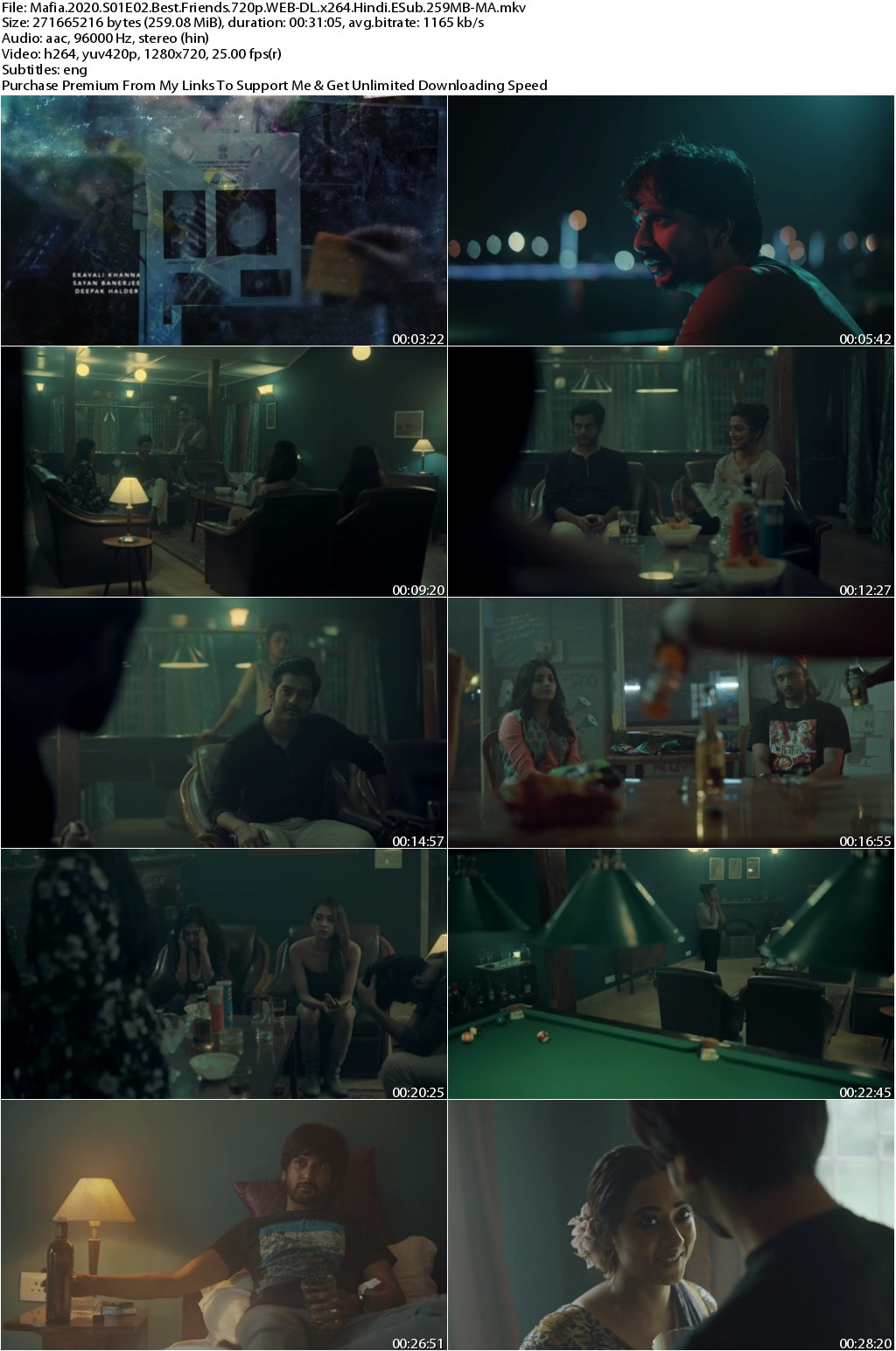 Mafia 2020 S01 Complete Hindi 720p WEB-DL x264 ESub 2GB-MA