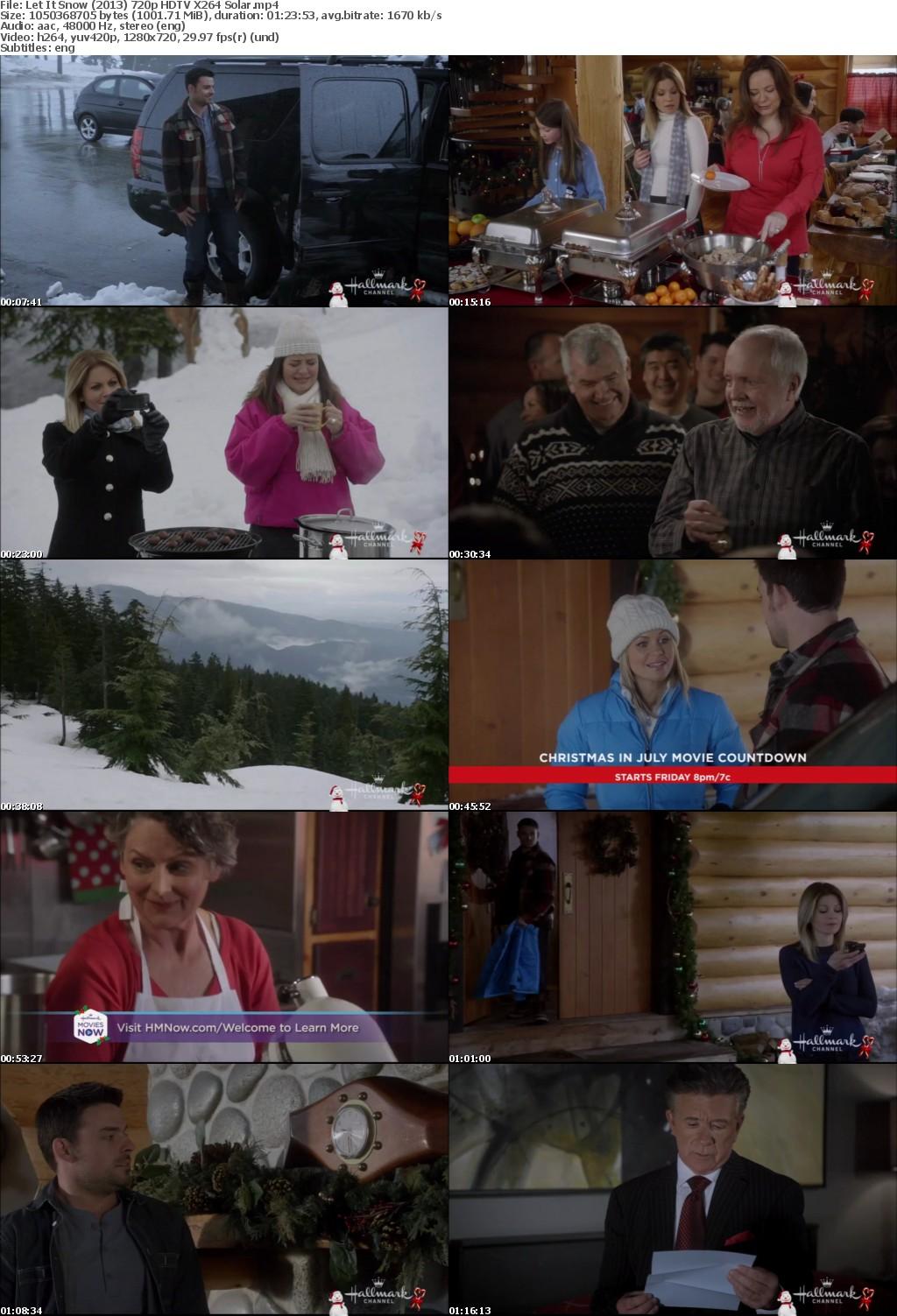 Let It Snow 2013 Hallmark 720p HDTV X264 Solar