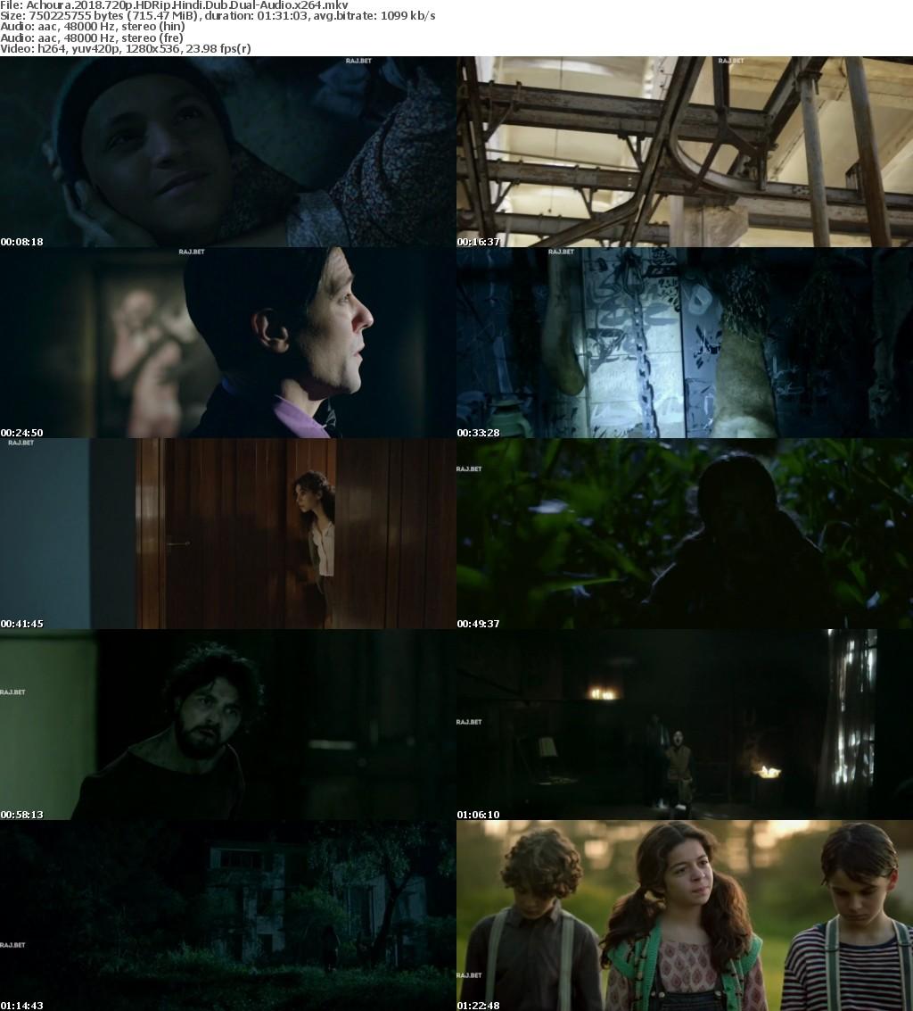 Achoura (2018)) 720p HDRip Hindi-Dub Dual-Audio x264