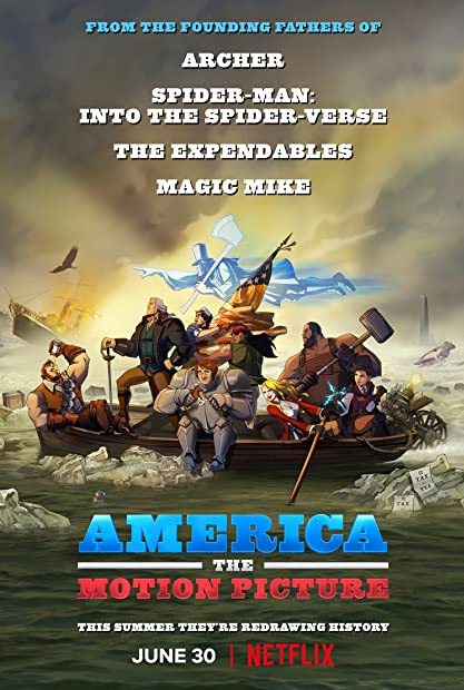 America The Motion Picture 2021 720p 10bit NF WEBRip English Hindi AAC 5 1  ...