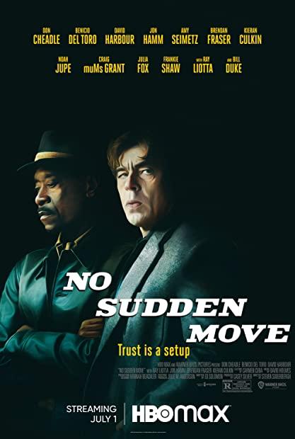 No Sudden Move 2021 720p 10bit HMAX WEBRip English AAC 5 1 x265 - mkvAnime  ...