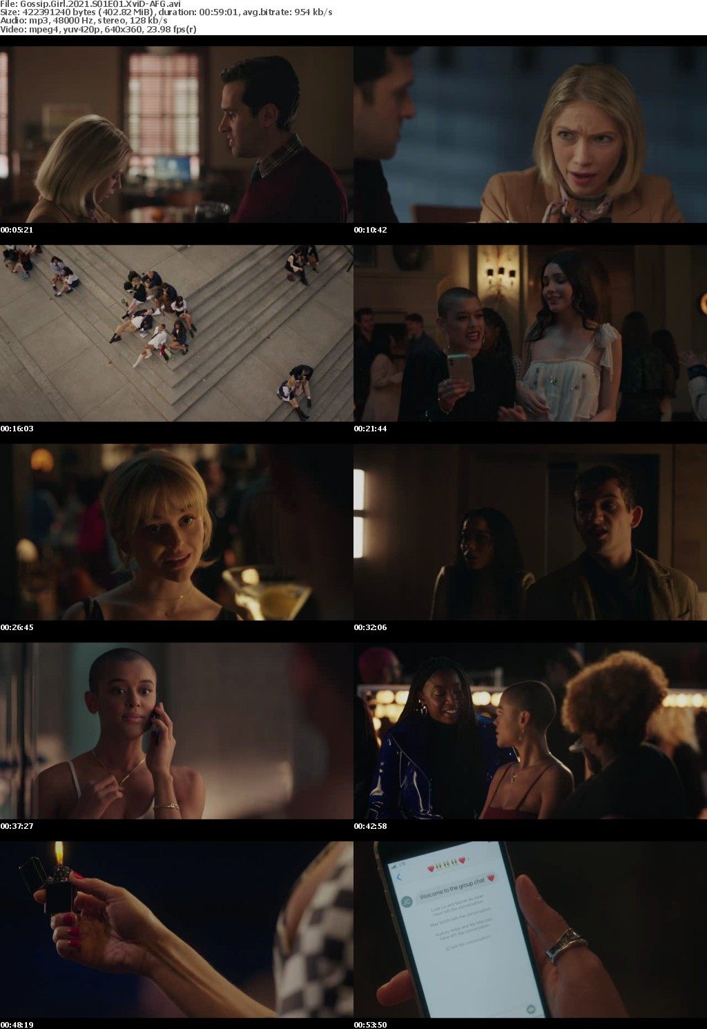 Gossip Girl 2021 S01E01 XviD-AFG