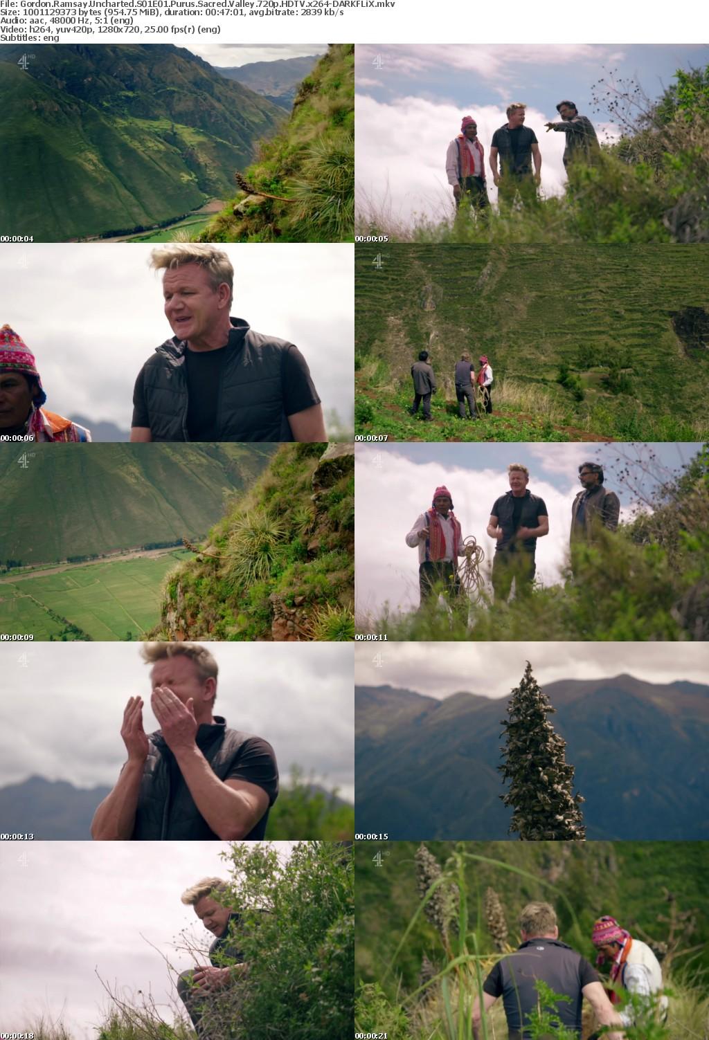 Gordon Ramsay Uncharted S01E01 Purus Sacred Valley 720p HDTV x264-DARKFLiX