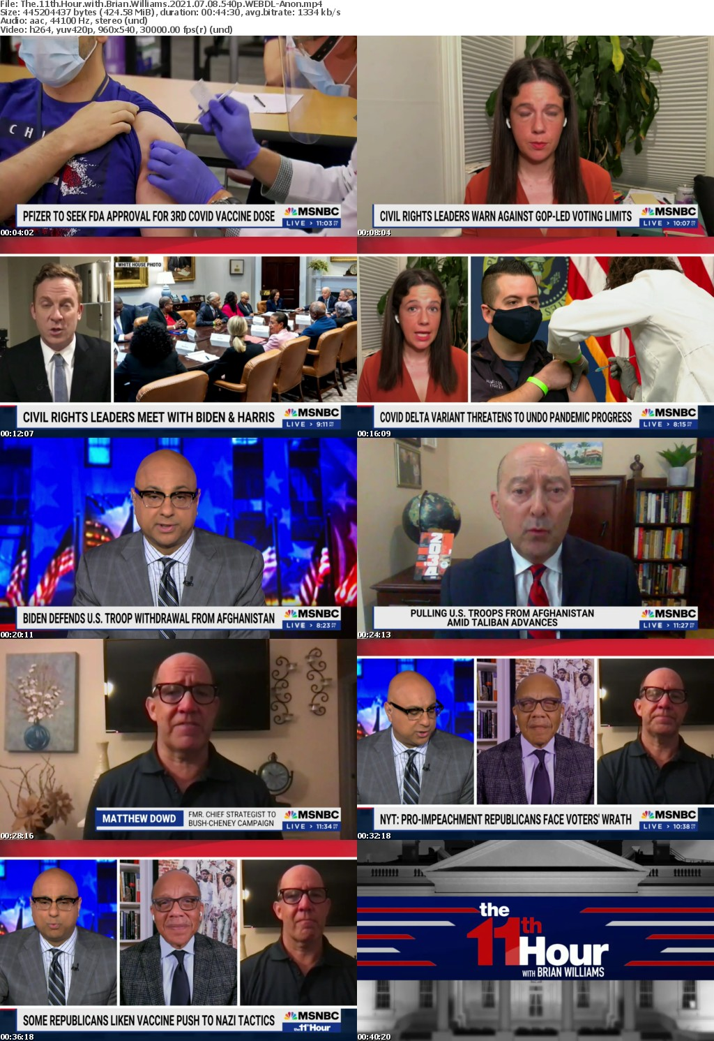 The 11th Hour with Brian Williams 2021 07 08 540p WEBDL-Anon