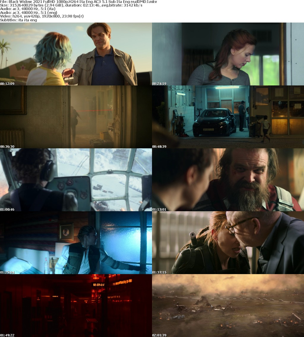 Black Widow (2021) FullHD 1080p H264 Ita Eng AC3 5 1 Sub Ita Eng - realDMDJ