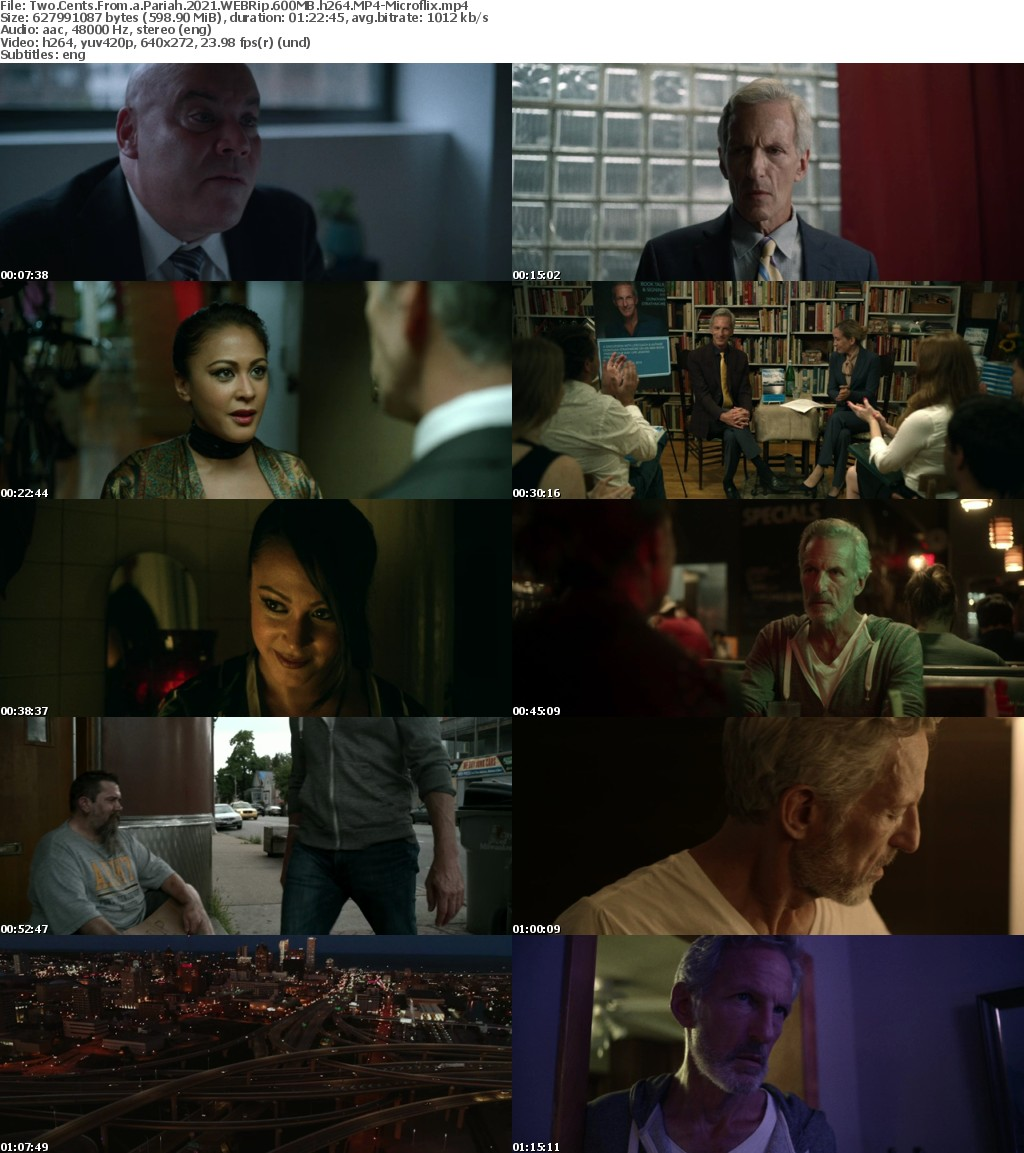 Two Cents From a Pariah 2021 WEBRip 600MB h264 MP4-Microflix