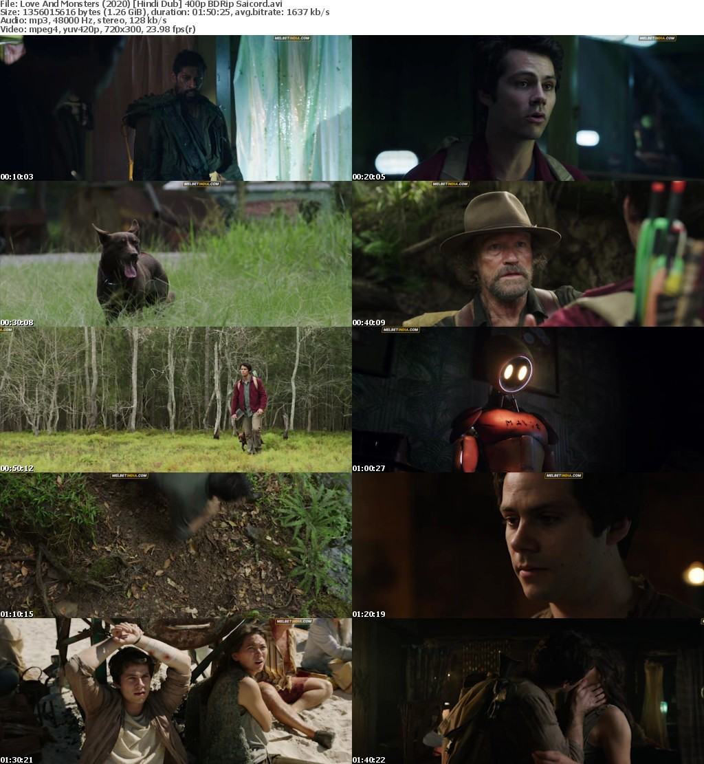 Love And Monsters (2020) Hindi Dub BDRip Saicord