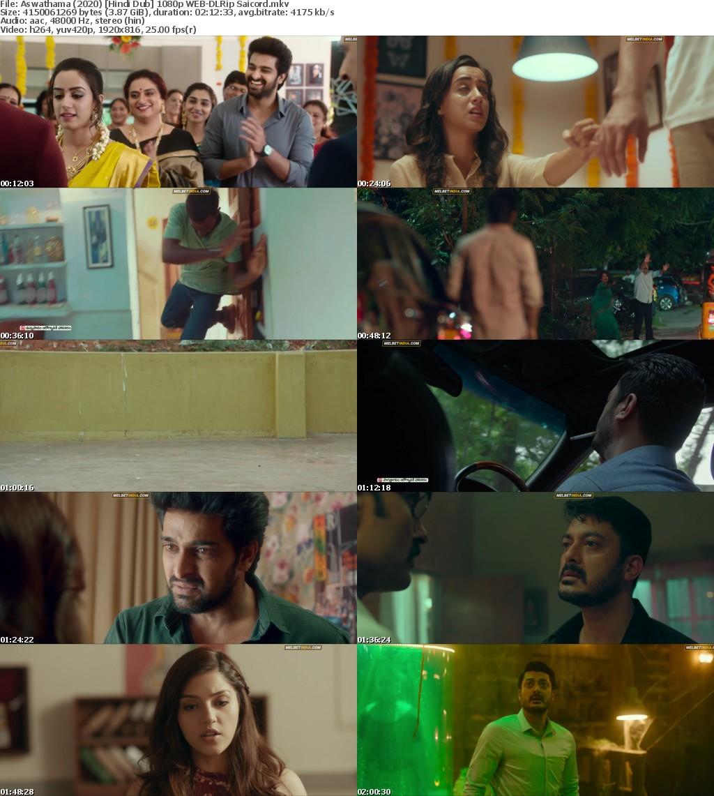 Aswathama (2020) Hindi Dub 1080p WEB-DLRip Saicord