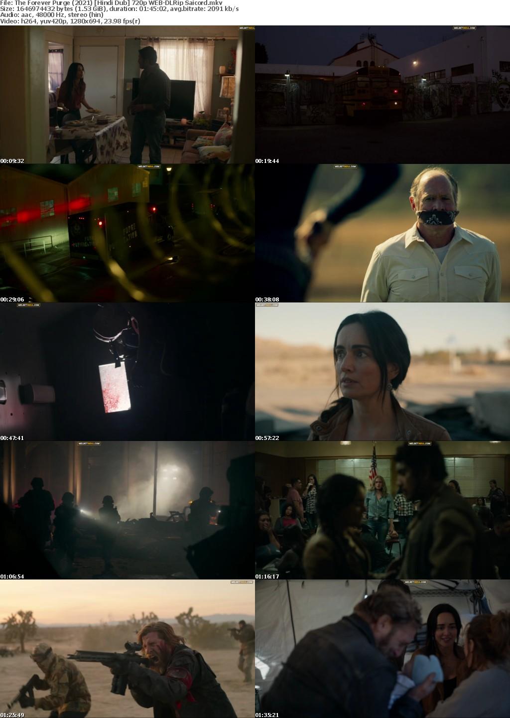 The Forever Purge (2021) Hindi Dub 720p WEB-DLRip Saicord