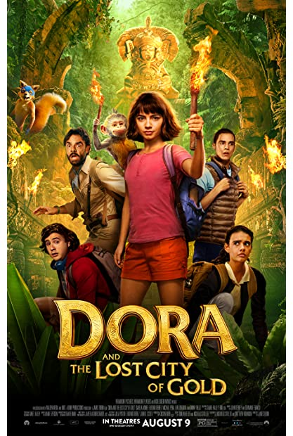 Dora and the Lost City of Gold (2019) 1080p BluRay x264 Dual Audio Hindi English AC3 5 1 - MeGUiL