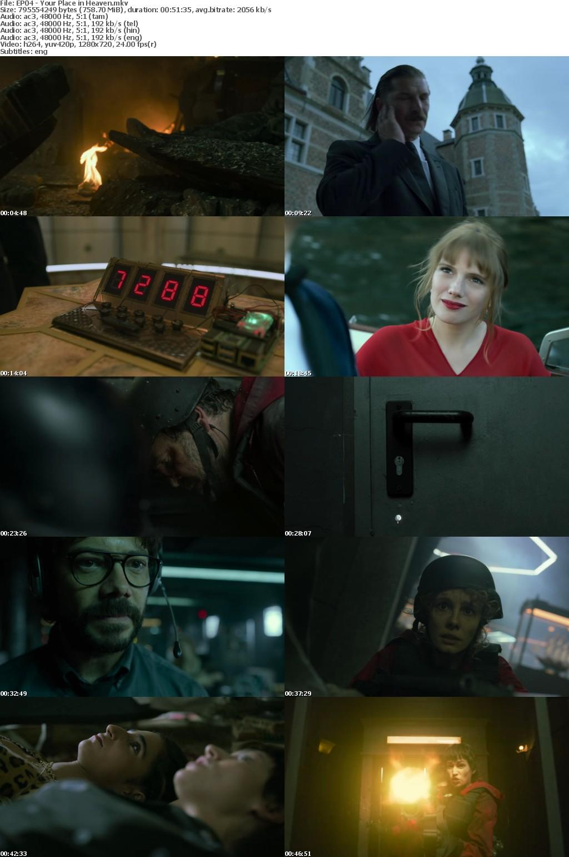 Money Heist (2021) S05 (E01-05) 720p NF WEB-DL Multi Audio Hin+Eng+Tam+Tel AC3DD5 1 ESub 3 4GB Themoviesboss